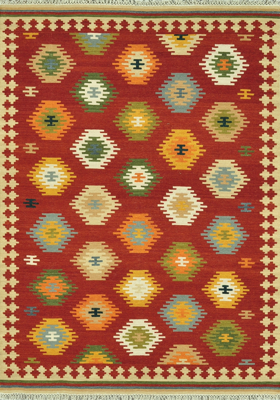 Loloi Isara IA-03 Red Multi Rug
