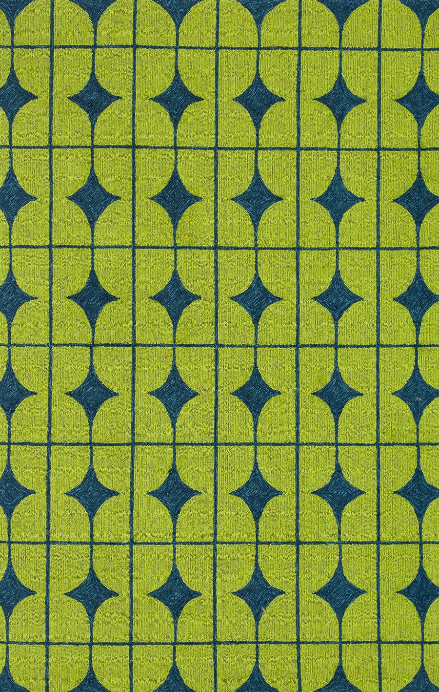 Loloi Venice Beach VB-03 Lime Blue Rug