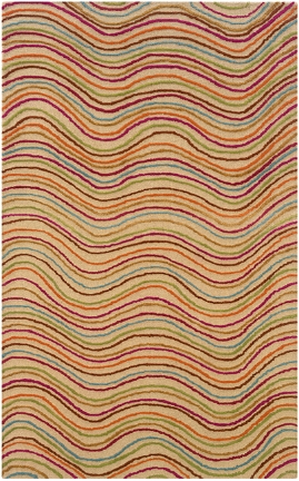 Lr Resources Vibrance 03556 Multi Rectangle Rug