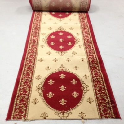Marquee Red - 26 Inch Wide Finished Runner - Price is Per Foot
