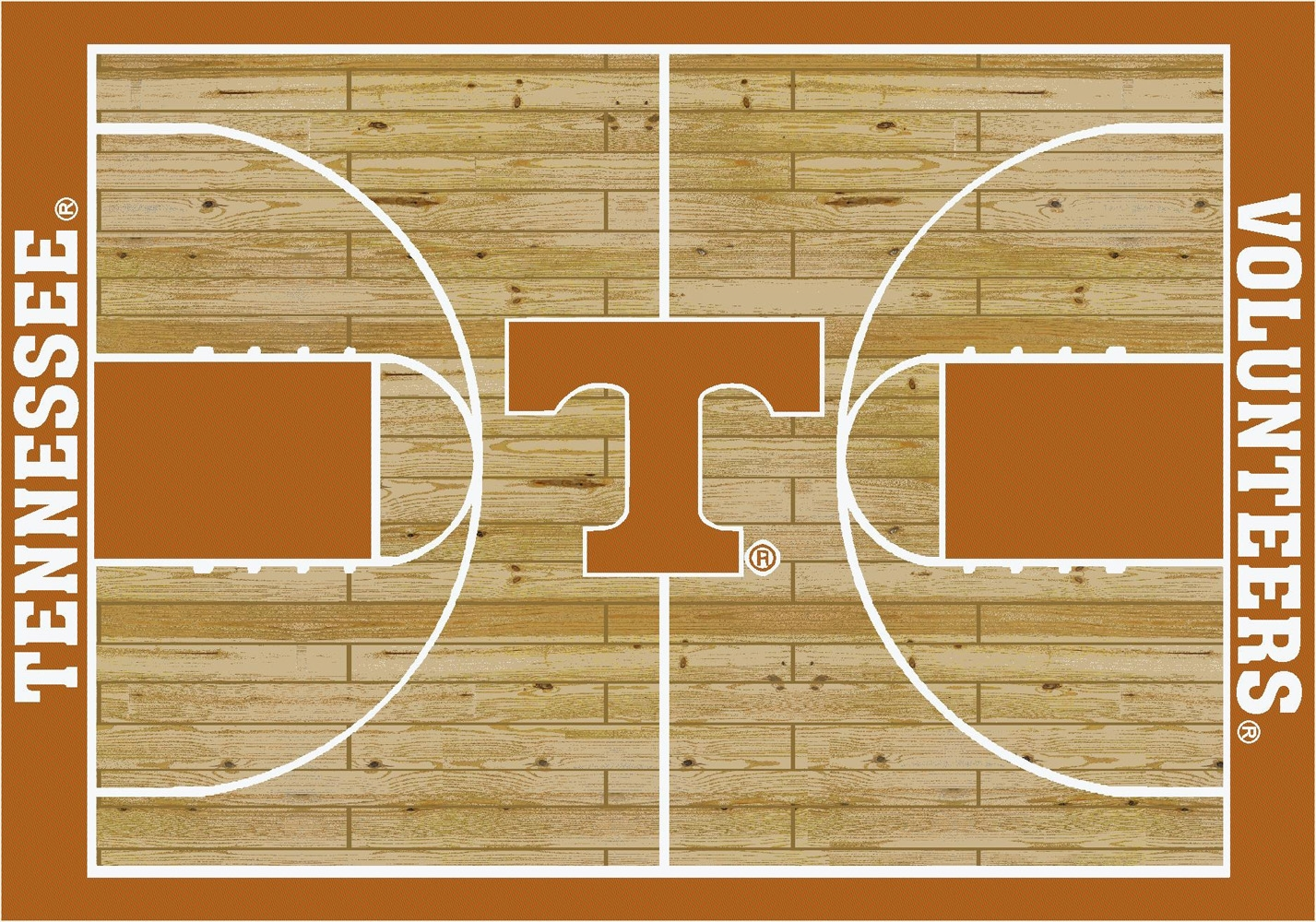 College Basketball Court Tennessee 100 Stainmaster