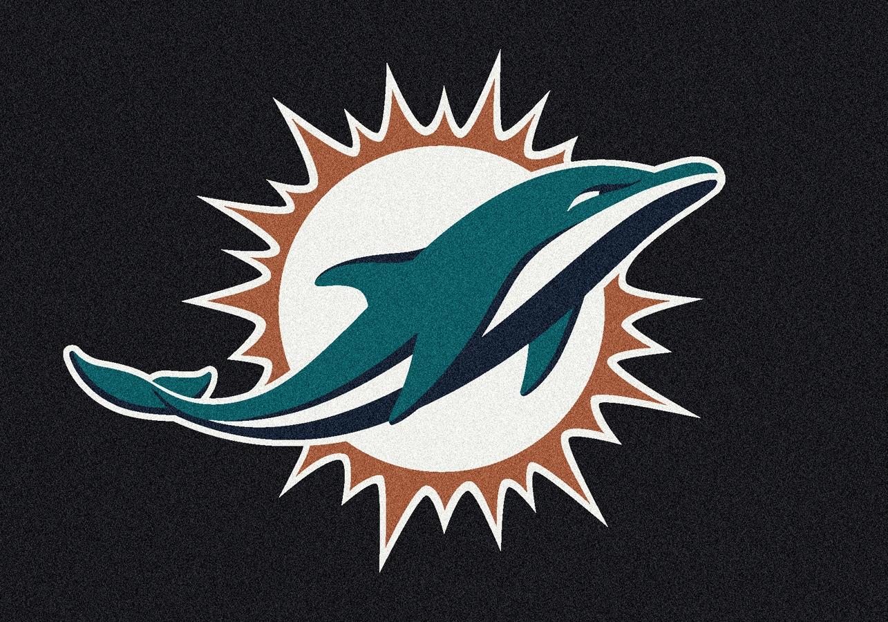 Miami Dolphins Rug