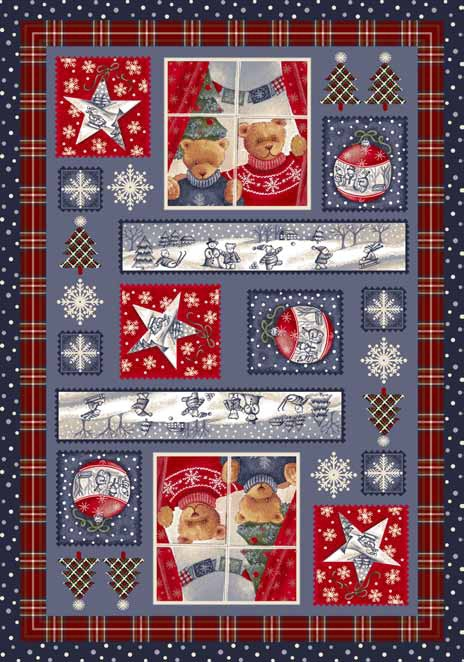 Seasonal Inspirations 534533-0018 Christmas CuddlesŸ?? 100% Nylon Fiber Machine Made Milliken Rugs On Sale