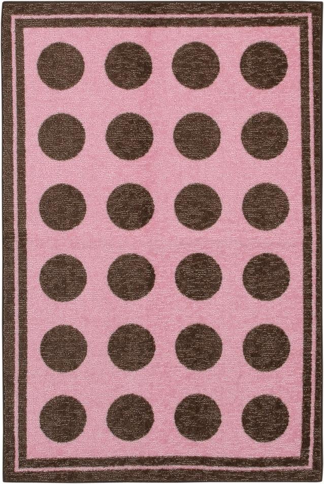 Mohawk Woodgrain 11205 419 Fluffy Pink Rug