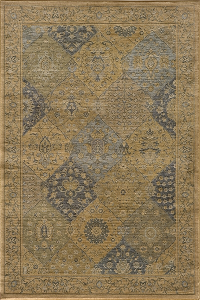 Belmont BE-01 Blue Rug by Momeni