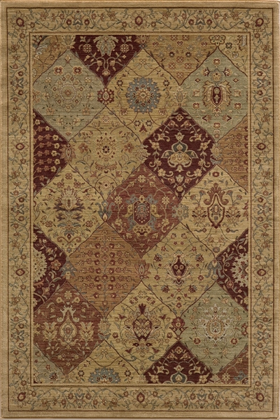 Belmont BE-01 Burgundy Rug by Momeni