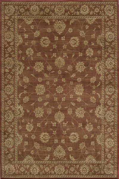 Belmont BE-02 Burgundy Rug by Momeni