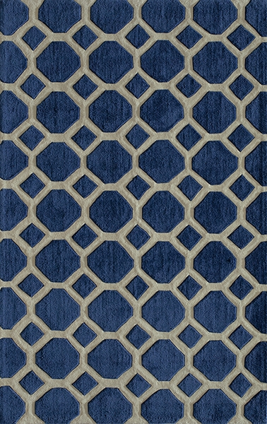 Bliss BS-11 Navy Rug by Momeni