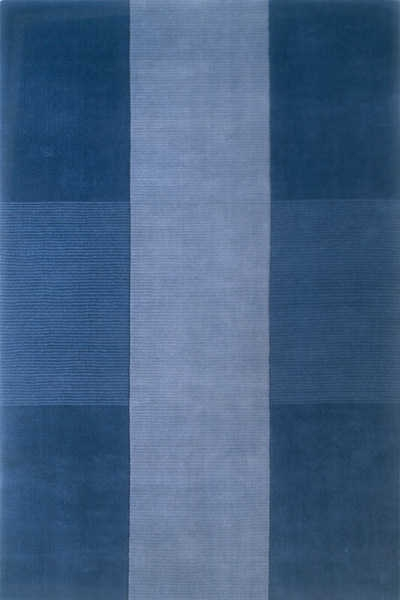 Metro MT-07 Blue Rug by Momeni