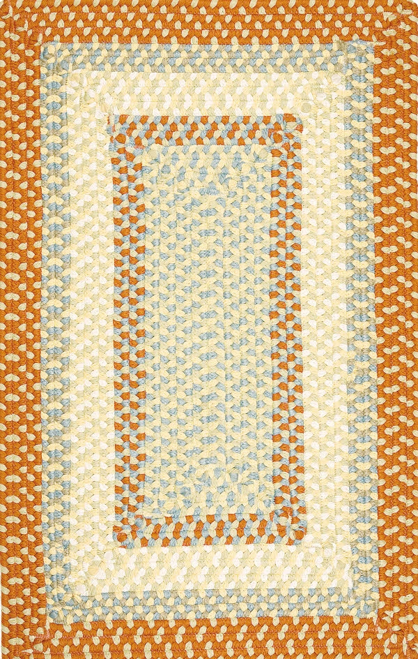 Montego MG29 Tangerine Rug by Colonial Mills