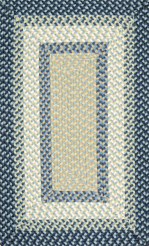 Montego MG59 Blue Burst Rug by Colonial Mills