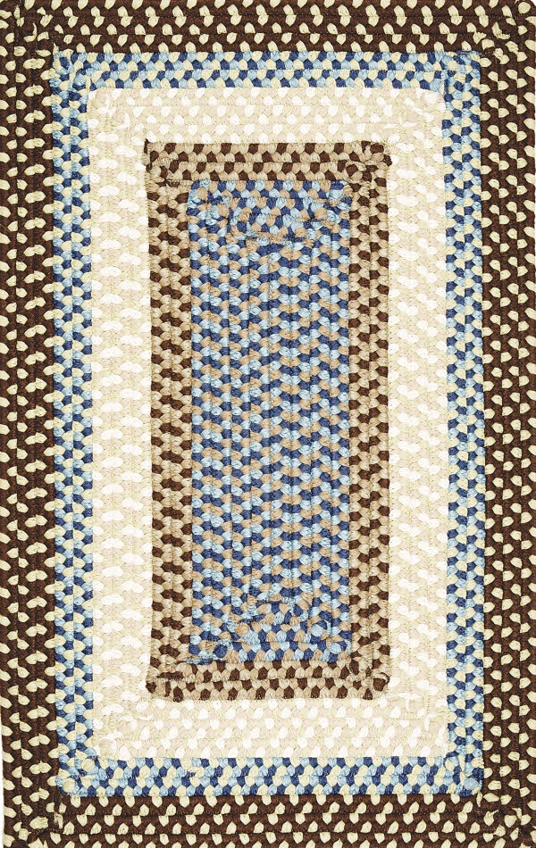 Montego MG89 Bright Brown Rug by Colonial Mills
