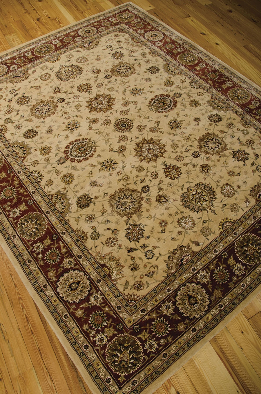 Nourison 2000 2204 Ivory Rug By Nourison