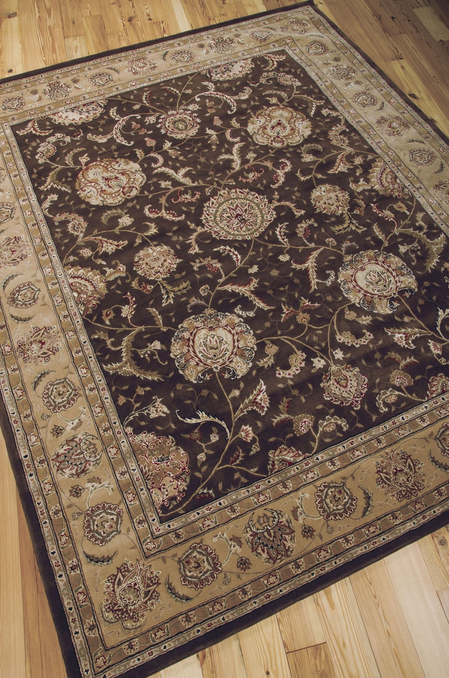 Nourison 2000 2206 Brown Rug by Nourison