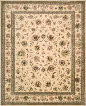 Nourison 2000 2228 Ivory Ivory Rug by Nourison