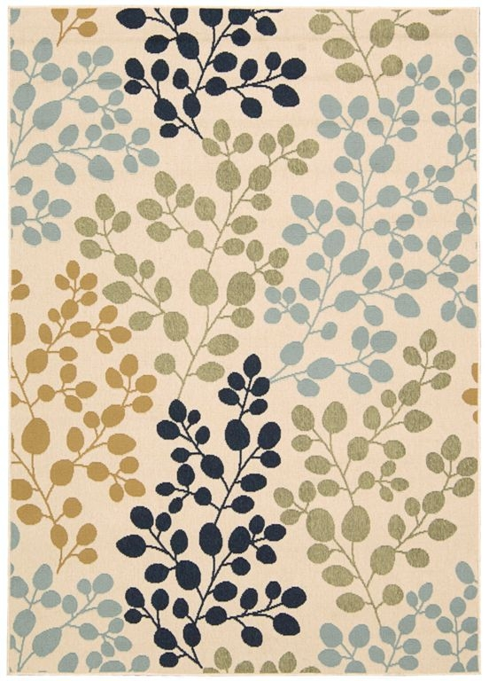 Nourison Caribbean CRB01 Ivory Area Rug
