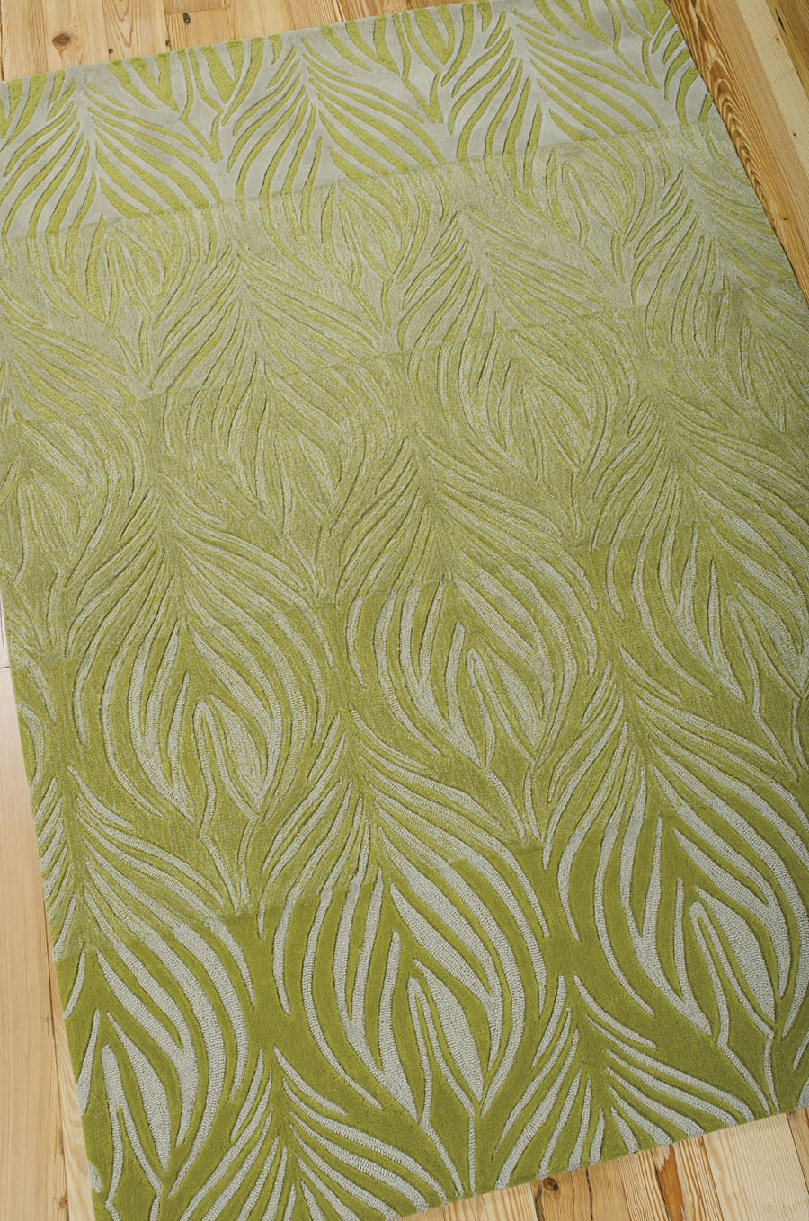 Contour Con06 Green Rug By Nourison