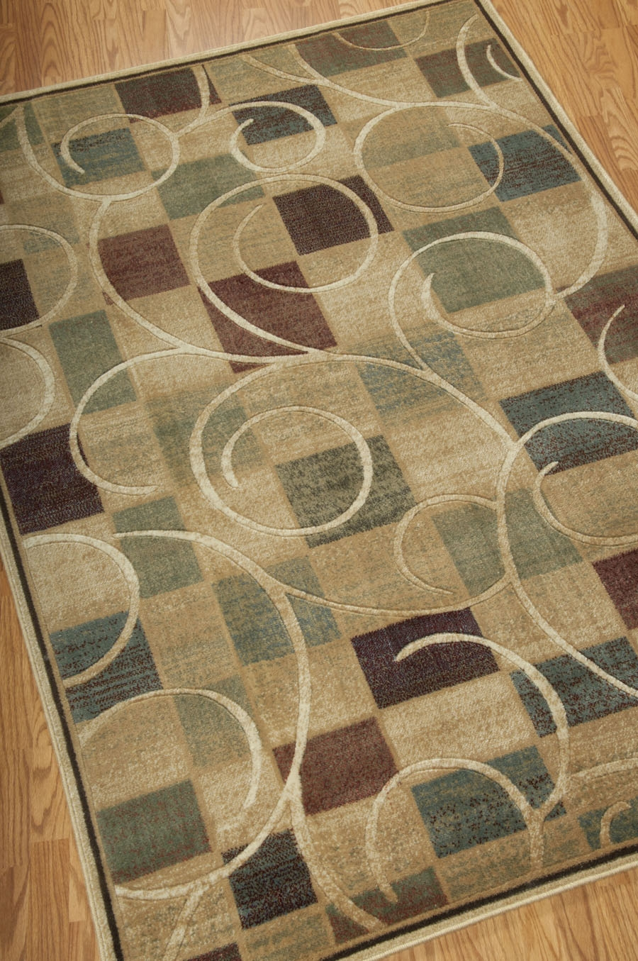 Expressions XP01 Beige Rug by Nourison