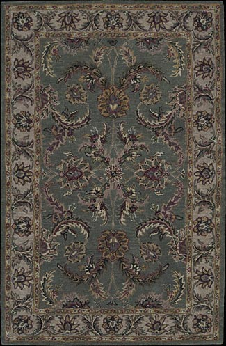 India House IH18 Green Rug by Nourison