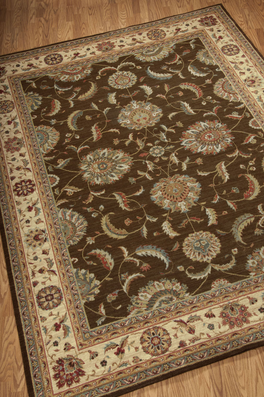 Living Treasures LI04 Brown Rug by Nourison