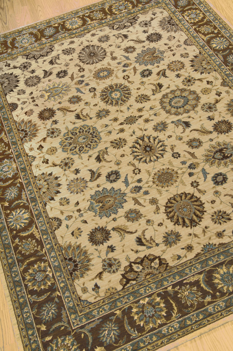 Living Treasures LI05 Beige Rug by Nourison