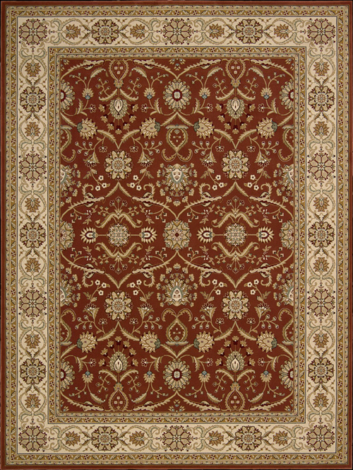 Nourison Persian Crown PC01 Brick Rug