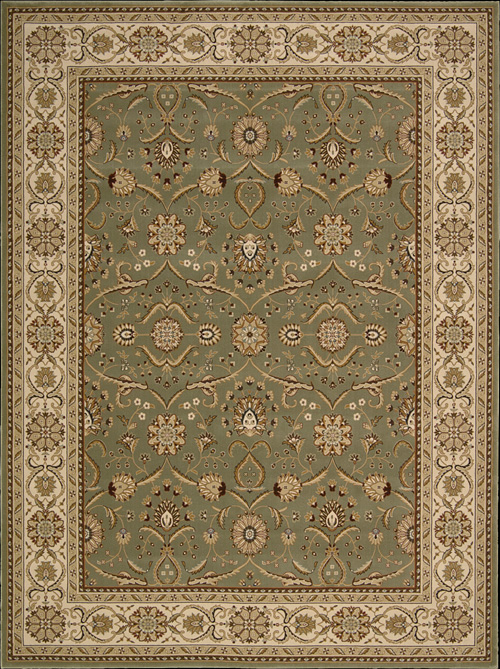 Nourison Persian Crown PC01 Green Rug