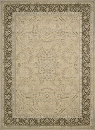 Persian Empire PE25 Sand Rug by Nourison