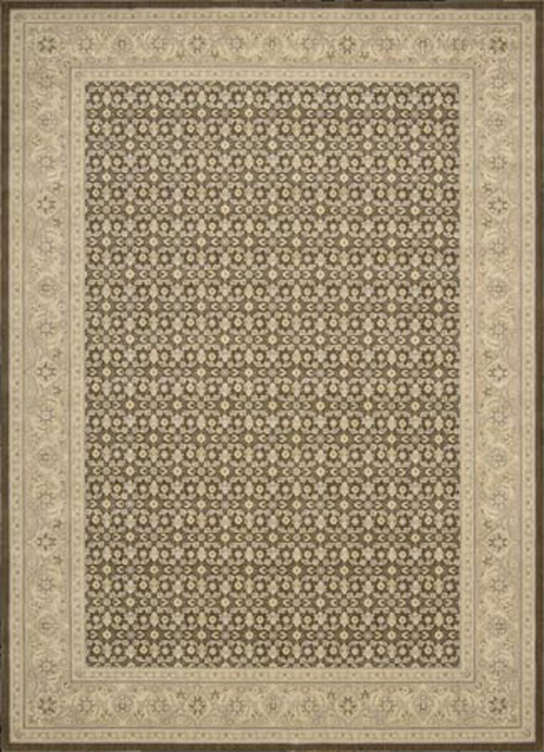 Persian Empire PE26 Chocolate Rug by Nourison