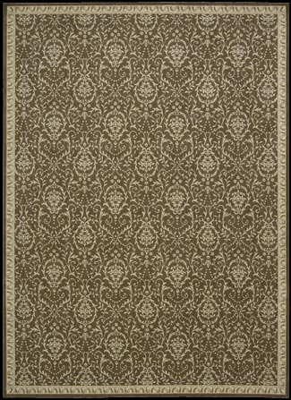 Riviera RI02 Chocolate Rug by Nourison