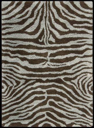 Splendor SPL-17 Aqua Brown Rug by Nourison