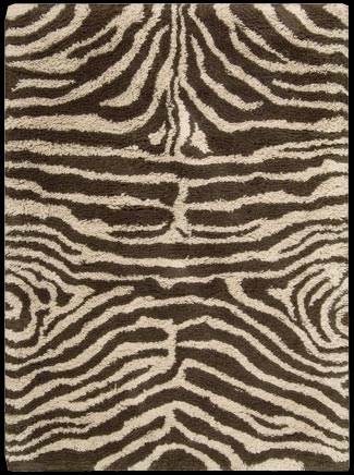 Splendor SPL-17 Ivory Brown Rug by Nourison