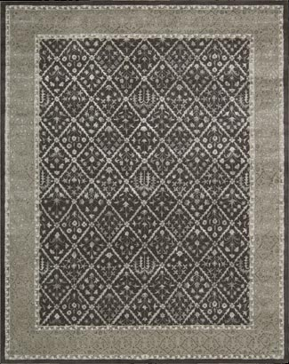 Symphony SYM05 Charcoal Rug by Nourison