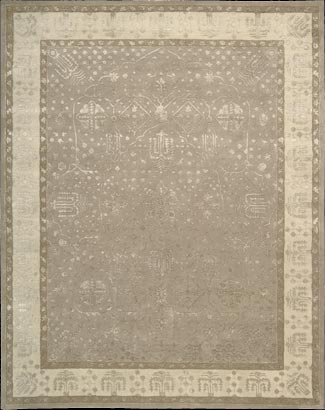 Symphony SYM09 Warm Taupe Rug by Nourison