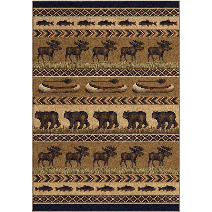 Orian Oxford 2608 Trophy Evening Area Rug
