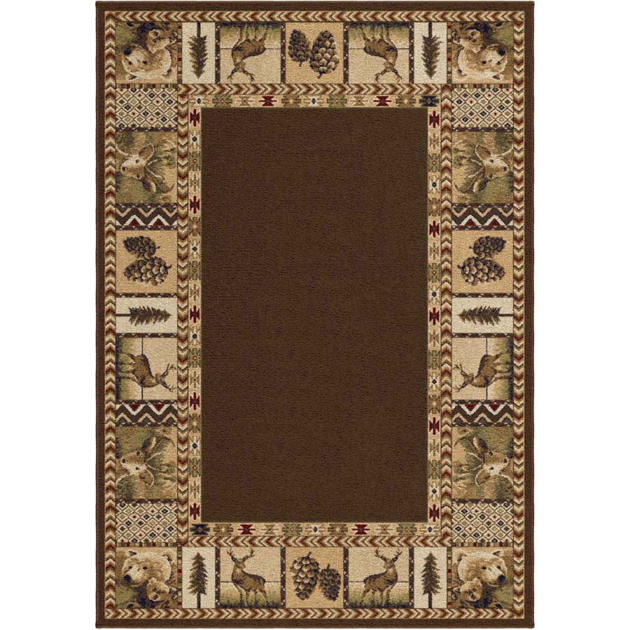 Orian Oxford 2612 High Country Sienna Area Rug