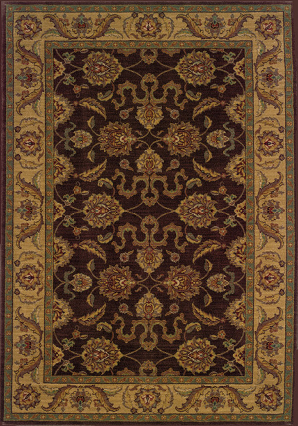 Oriental Weavers Sphinx Allure 012b1 Raisin Rug