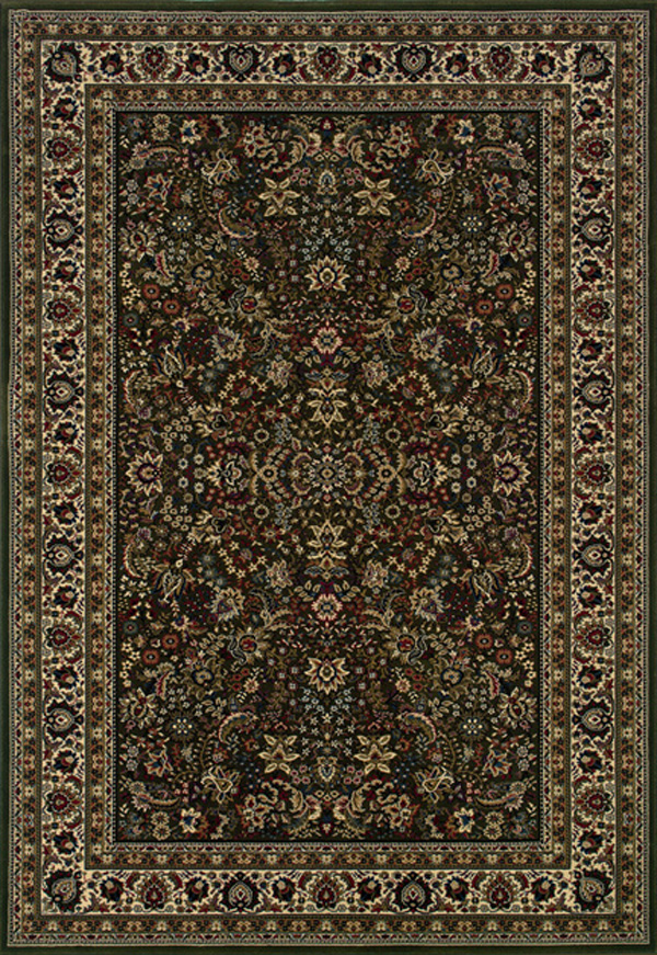 Oriental Weavers Sphinx Ariana 213g8 Dark Green Rug