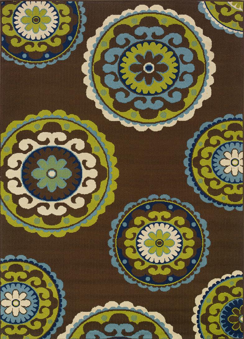 Oriental Weavers Sphinx Caspian 859d6 Outdoor Rug
