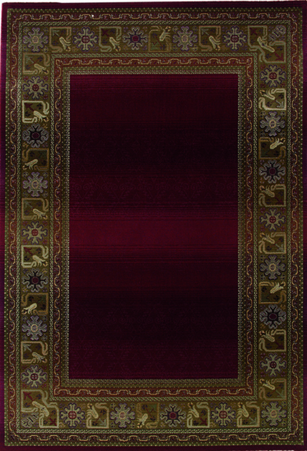 Oriental Weavers Sphinx Generations 3436R Dark Red Rug