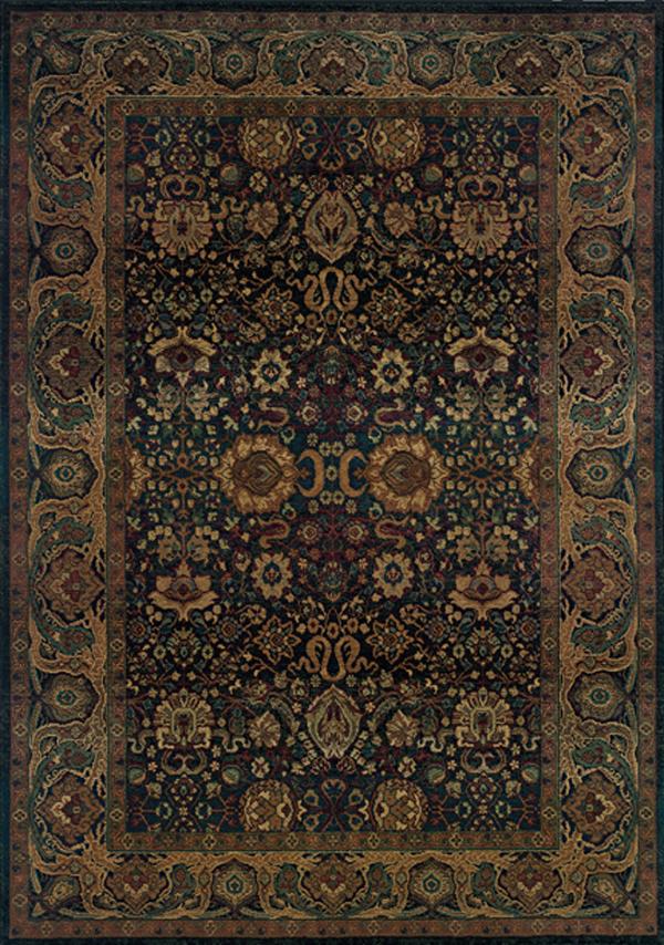 Oriental Weavers Sphinx Kharma 332x Navy Rug