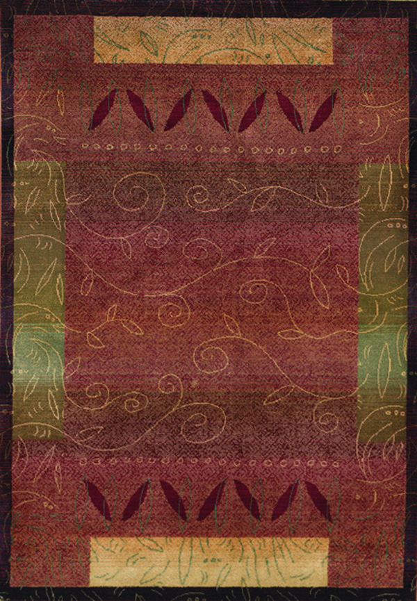Oriental Weavers Sphinx Kharma Infusion 439R Medium Red Rug