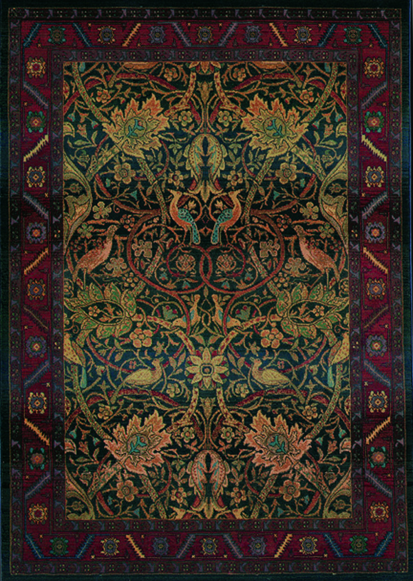 Oriental Weavers Sphinx Kharma Paradise 470X Medium Red Rug