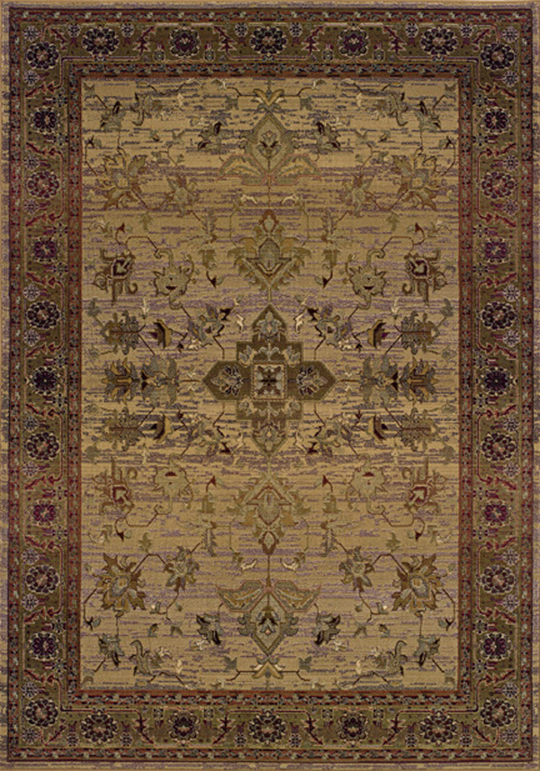 Oriental Weavers Sphinx Kharma Timeless 836Y Medium Beige Rug