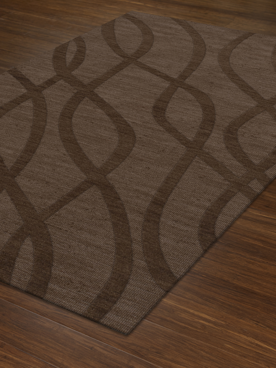 Payless Troy TR10 104 Mocha Rectangle Rug