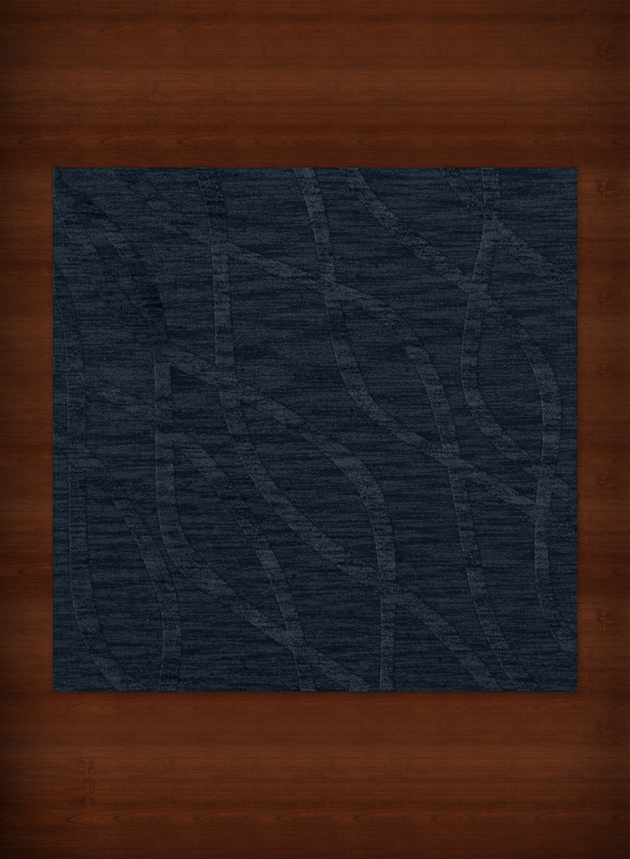 Payless Troy TR10 116 Navy Square Rug