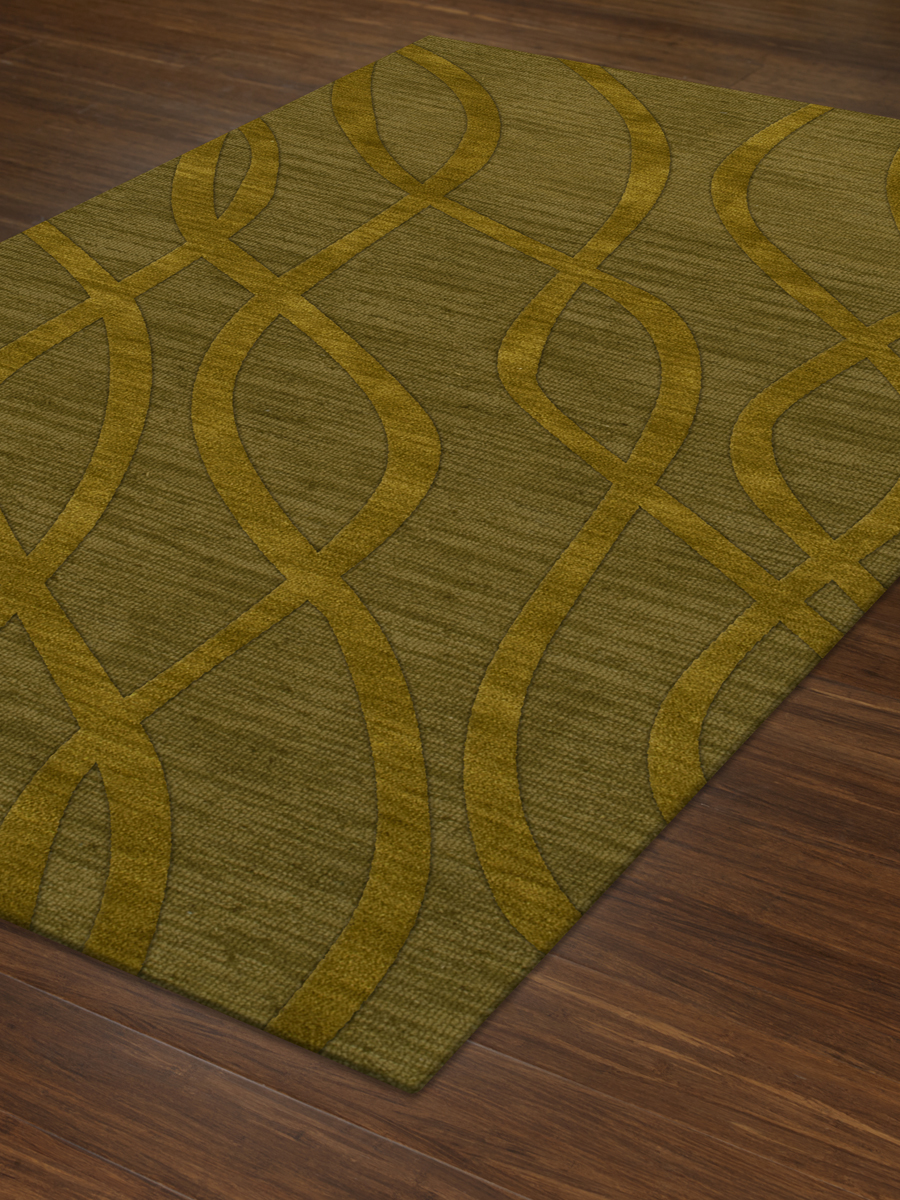Payless Troy TR10 157 Avocado Rectangle Rug