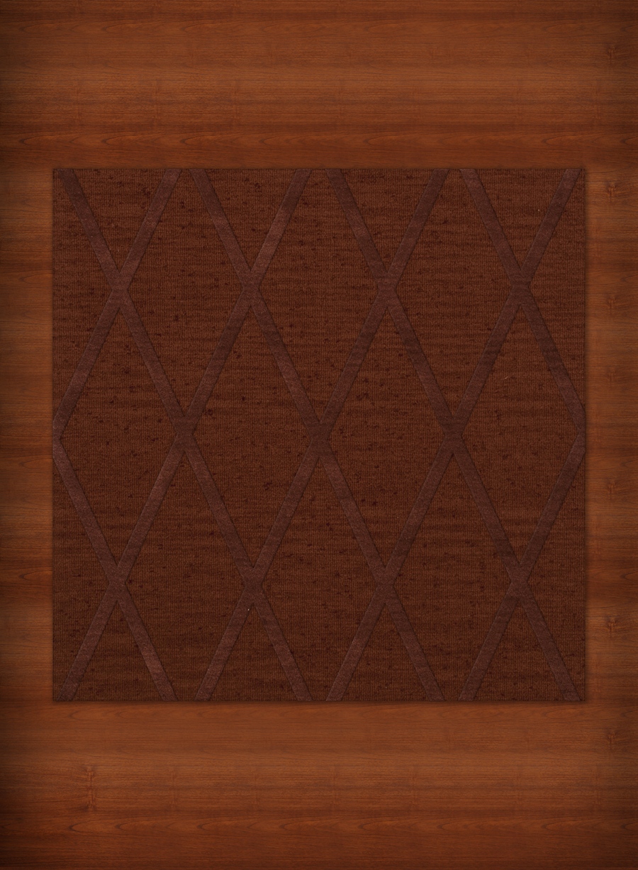 Payless Troy TR11 137 Paprika Square Rug