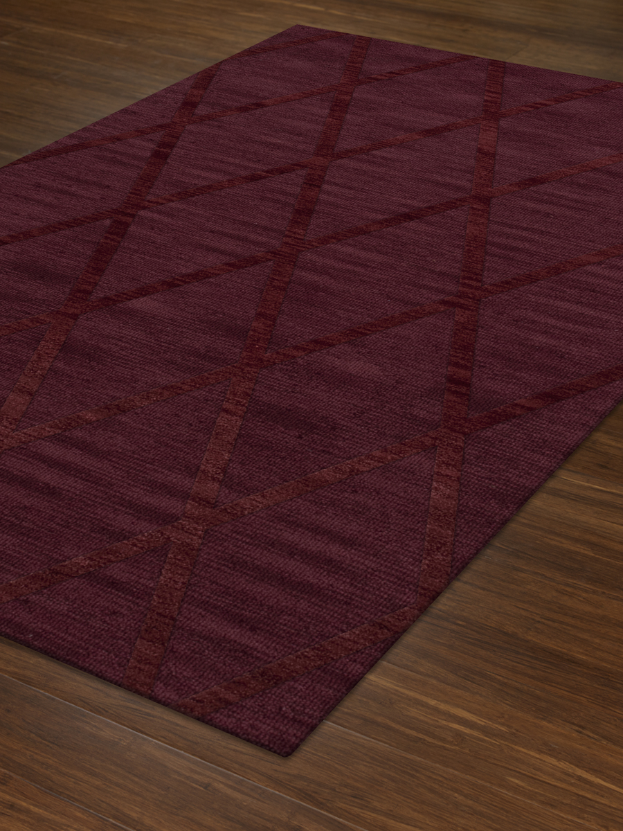 Payless Troy TR11 150 Burgundy Rectangle Rug