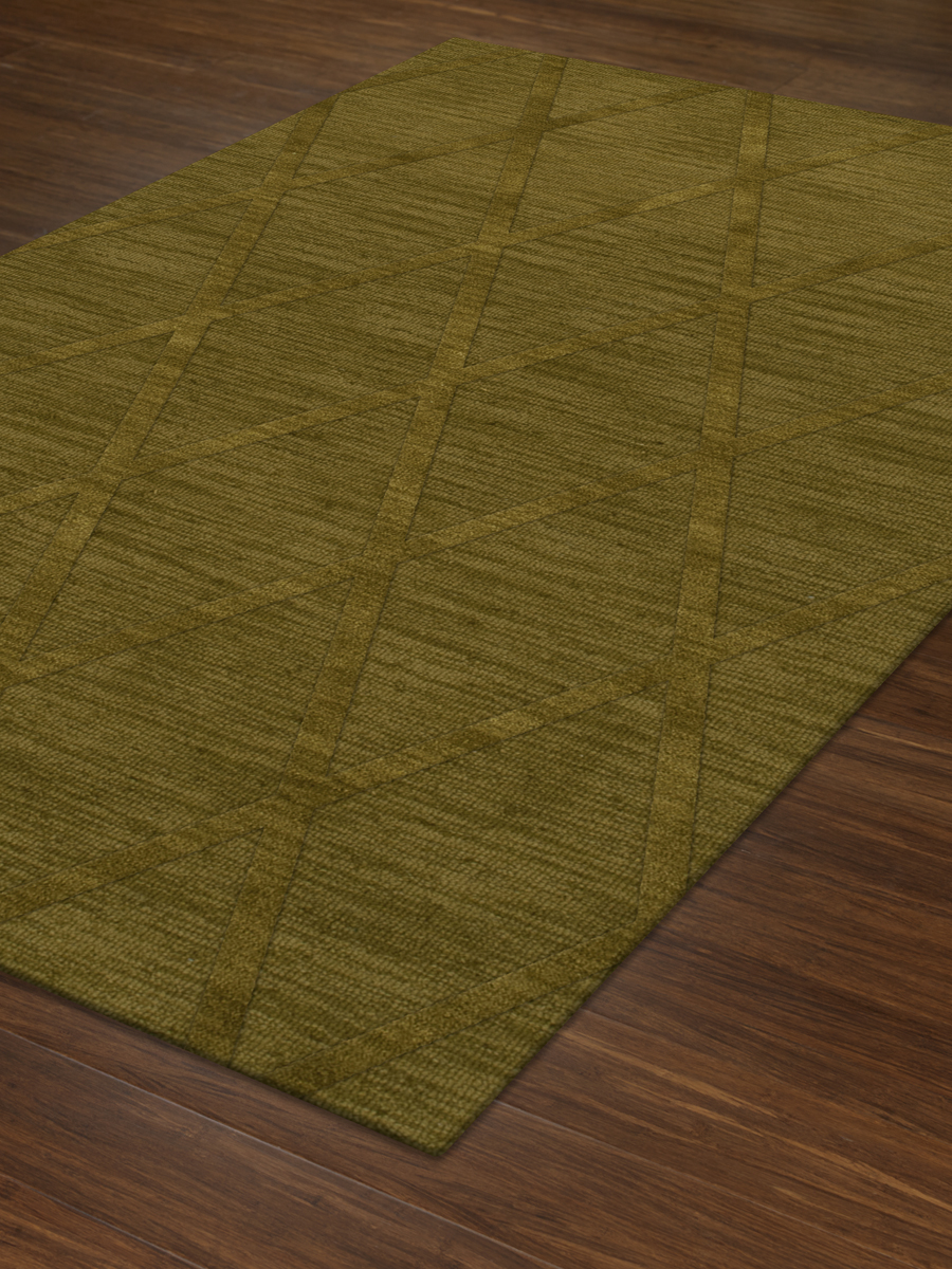 Payless Troy TR11 157 Avocado Rectangle Rug